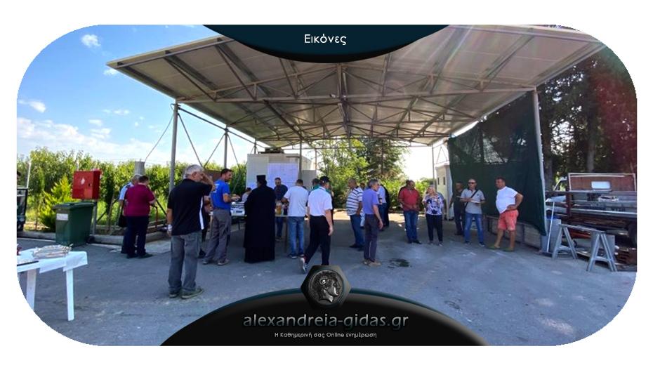 Σε νέες εγκαταστάσεις επενδύει ο Αγροτικός Συνεταιρισμός «ΝΕΟΣ ΑΛΙΑΚΜΩΝ» στην Ημαθία