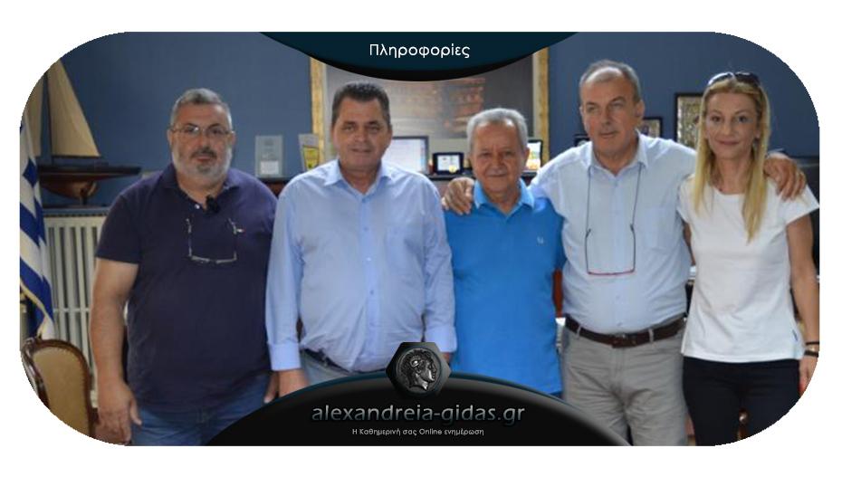 Κ. Καλαϊτζίδης: «Συνεχής η συνεργασία της Π.Ε. Ημαθίας με τους κοινωνικούς φορείς του νομού»
