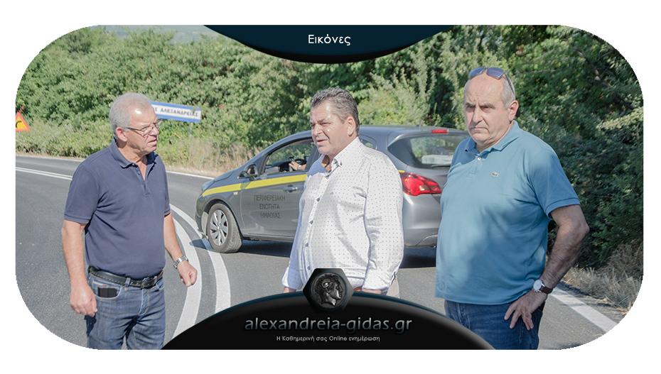 Στον πρώην δήμο Μελίκης το πρωί ο Κώστας Καλαϊτζίδης – συνεχίζεται το έργο των ασφαλτοστρώσεων