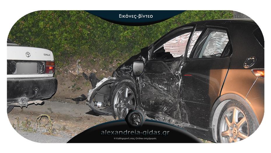 Πριν λίγο: Τροχαίο ατύχημα στην Κορυφή του δήμου Αλεξάνδρειας – συγκρούστηκαν 2 αυτοκίνητα