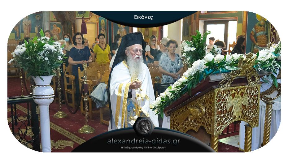 Μεθεόρτιος Εσπερινός της Μεταμορφώσεως του Σωτήρος και Παράκληση της Παναγίας στο Λιανοβέργι
