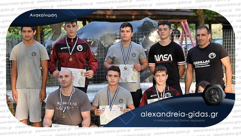 Μετάλλια για τους παλαιστές της Αλεξάνδρειας σε πρωτάθλημα στην άμμο