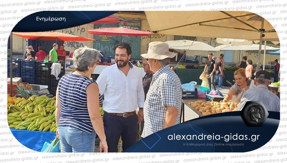 Ανοίγουν και πάλι οι λαϊκές αγορές στην Ημαθία – το αποκάλυψε ο Τάσος Μπαρτζώκας