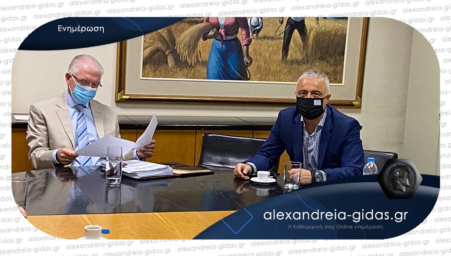 Συνάντηση Τσαβδαρίδη με τον πρόεδρο του ΕΛΓΑ: Επίκεντρο της συζήτησης η στήριξη των αγροτών