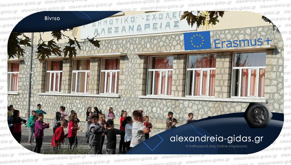 Έβαλαν το 1ο Δημοτικό Σχολείο Αλεξάνδρειας στον Ευρωπαϊκό χάρτη!