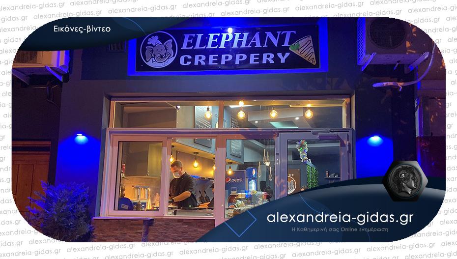 Άνοιξε η νέα Creppery ELEPHANT στην Αλεξάνδρεια – καλές δουλειές!
