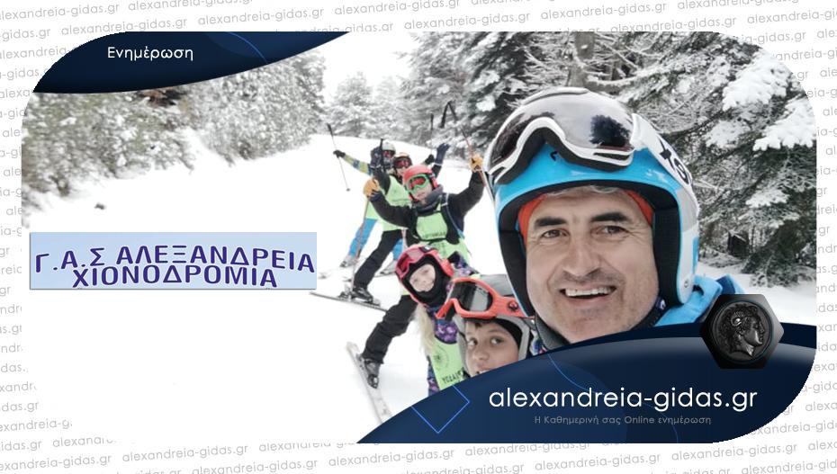 Θα γίνουν κανονικά τα μαθήματα σκι του ΓΑΣ Αλεξάνδρειας – ξεκίνησαν οι εγγραφές