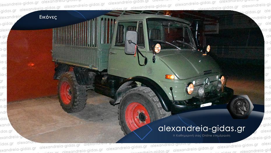 Πωλείται Unimog σε πολύ καλή κατάσταση στην Αλεξάνδρεια