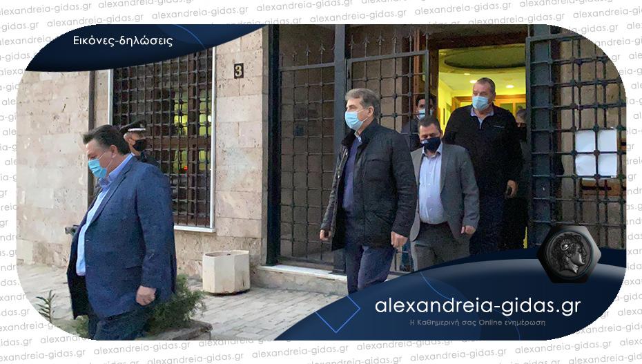 Την Ημαθία επισκέφτηκε ο Χρυσοχοΐδης για τον κορονοϊό: «Να δώσουμε μάχη να μην εξαπλωθεί»