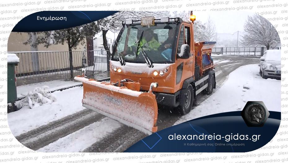Λειτούργησαν σωστά και αποτελεσματικά τα συνεργεία του δήμου Αλεξάνδρειας