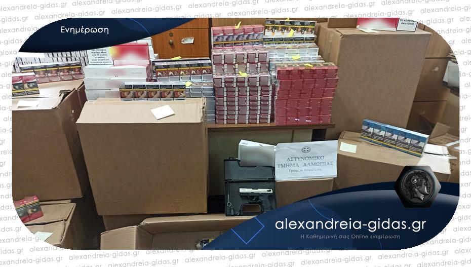 Θα γέμιζε την αγορά με λαθραία τσιγάρα – κατασχέθηκαν πάνω από 11,5 χιλιάδες πακέτα