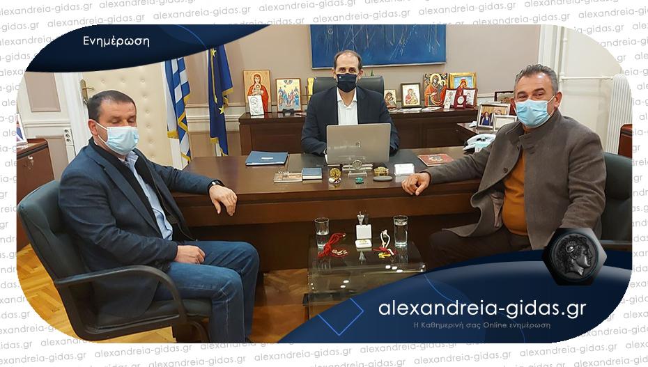 Για αγροτικά θέματα στην Αθήνα οι αγρότες της Ημαθίας – κυριάρχησε η συνάντηση με τον Απ. Βεσυρόπουλο
