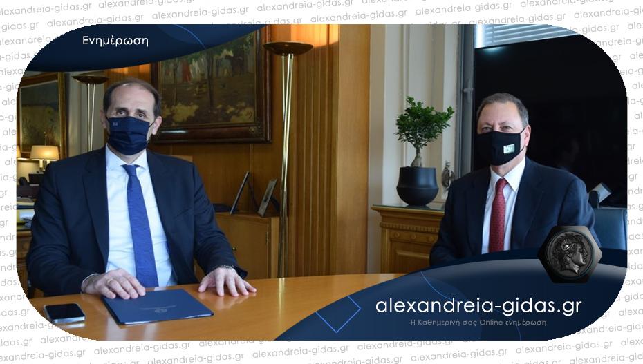 Συνάντηση Βεσυρόπουλου – Λιβανού για σημαντικά θέματα των αγροτών