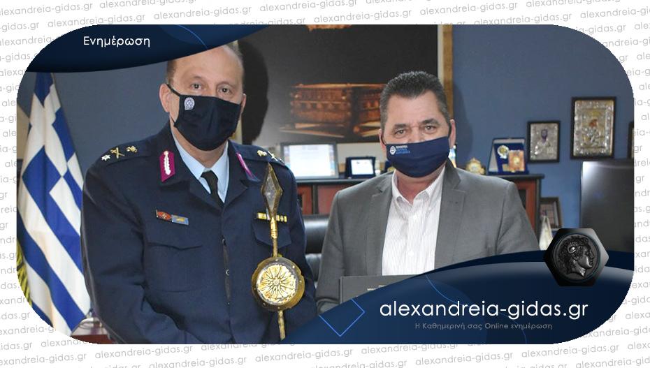 Τον νέο Αστυνομικό Διευθυντή υποδέχτηκε ο αντιπεριφερειάρχης
