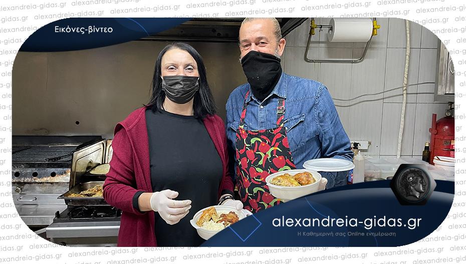 Μαγειρεύουν κάθε μέρα για 90 ανθρώπους που έχουν ανάγκη στον δήμο Αλεξάνδρειας!