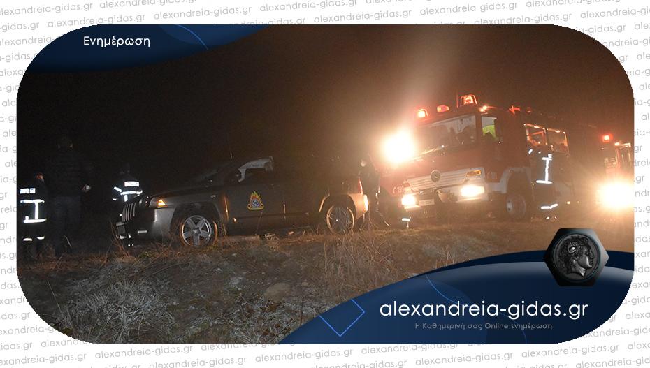Νεκρός ανασύρθηκε ο οδηγός του οχήματος στη Ραψωμανίκη