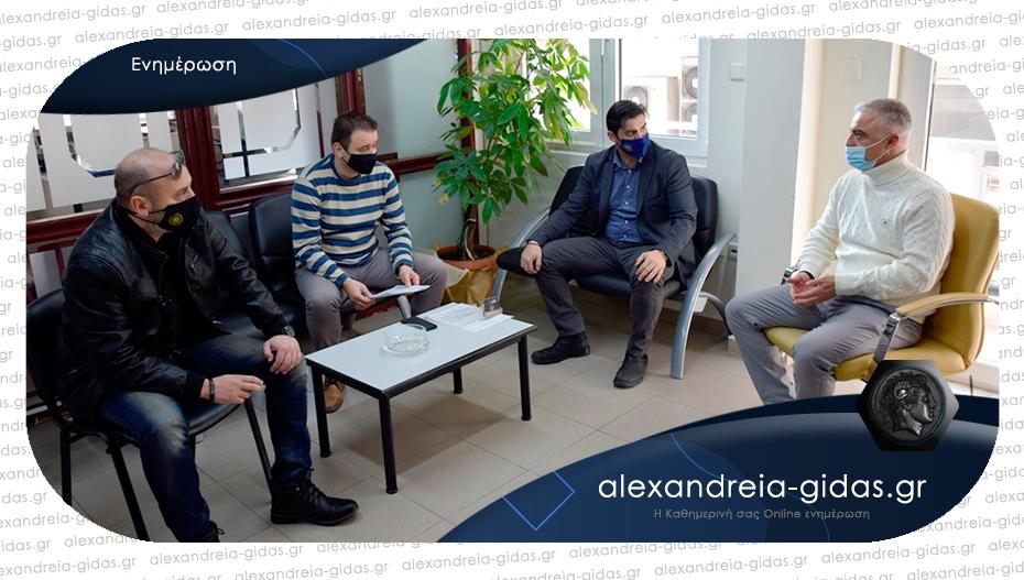 Συνάντηση του Λάζαρου Τσαβδαρίδη με τους αστυνομικούς της Ημαθίας