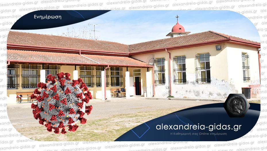 Ένα ακόμα δημοτικό σχολείο του δήμου Αλεξάνδρειας με κρούσματα κορονοϊού