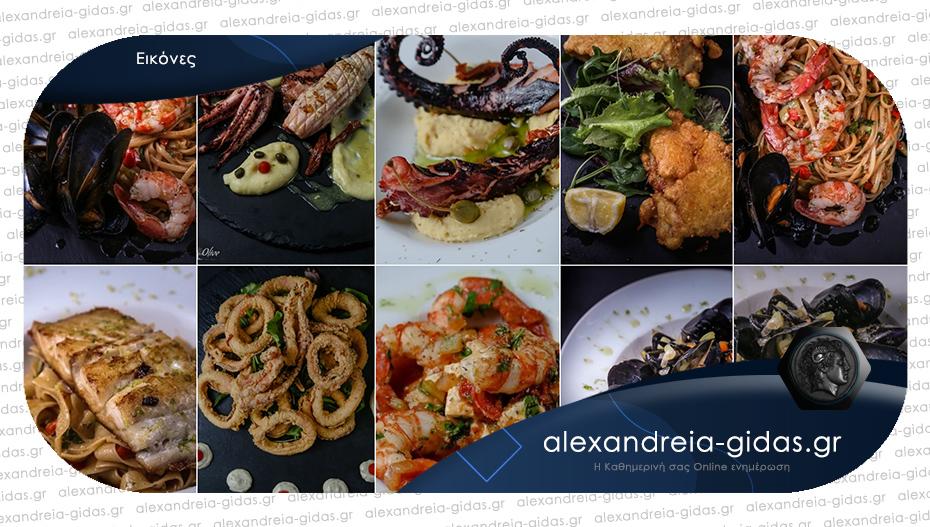 Πανδαισία θαλασσινών στο τραπέζι μας από το OLIVE – Delivery & Take away!