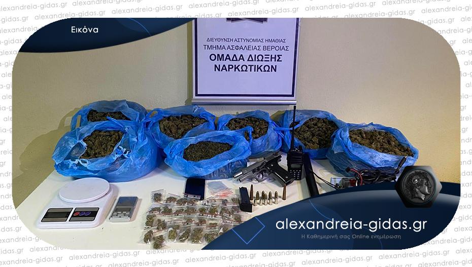 Σύλληψη διακινητή ναρκωτικών από τους αστυνομικούς της Ημαθίας
