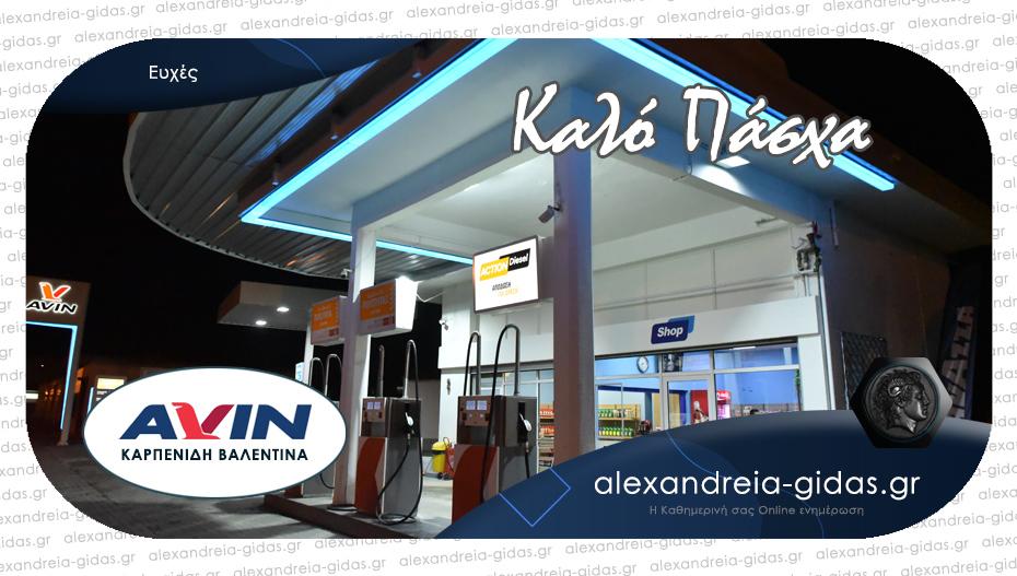 Χρόνια πολλά από την επιχείρηση AVIN Καρπενίδη στην Αλεξάνδρεια!
