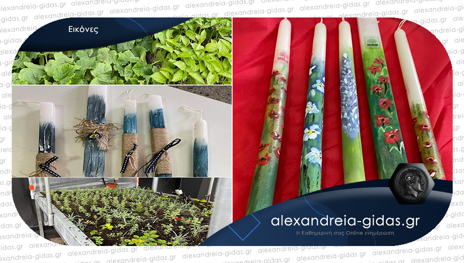 Προϊόντα των μαθητών του ΕΕΕΕΚ Αλεξάνδρειας για καλό σκοπό – ας βοηθήσουμε όλοι!