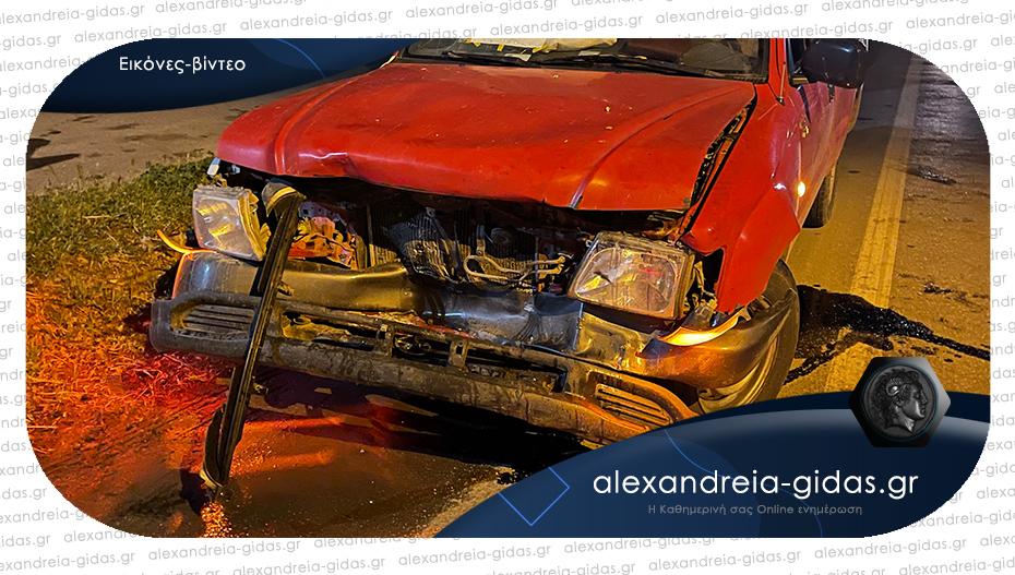 ΤΩΡΑ: Μετωπική σύγκρουση δύο αυτοκινήτων στο Βρυσάκι