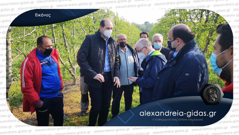 Ο Απ. Βεσυρόπουλος για την επίσκεψη Λυκουρέντζου: «Παραμένουμε κοντά στους αγρότες της Ημαθίας»