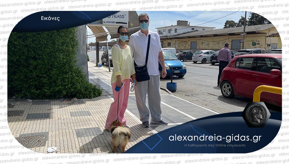Πάσχα στην Αλεξάνδρεια για την Όλγα Λαφαζάνη και τον Νίκο Οικονόμου