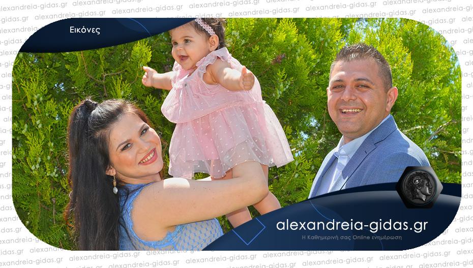 Η βάπτιση της ΧΡΥΣΗΣ στα Τρίκαλα: Πόλυ και Φαίδρα να σας ζήσει!