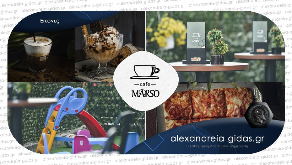 MARSO στο Λιανοβέργι: Ποιοτικές γεύσεις και υπέροχος χώρος για μικρούς και μεγάλους!