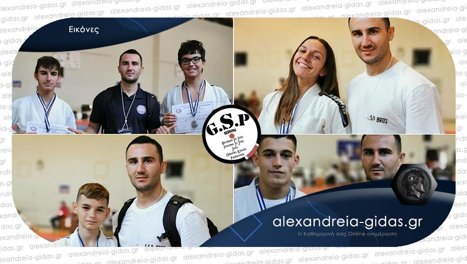 Πετυχημένη η συμμετοχή του ΑΣΚ Αλεξάνδρειας GSP BROS στο Πανελλήνιο Πρωτάθλημα Ju Jitsu!