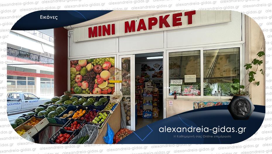 ΠΩΛΕΙΤΑΙ το Μίνι Μάρκετ «ΑΛΕΚΟΣ» στην Αλεξάνδρεια