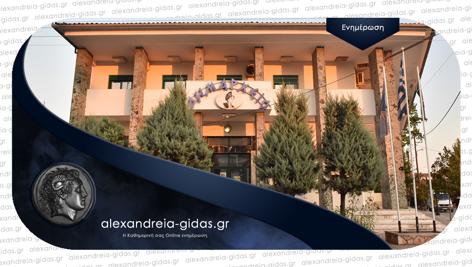 Με 6 θέματα συνεδριάζει την Τρίτη η Οικονομική Επιτροπή του δήμου Αλεξάνδρειας