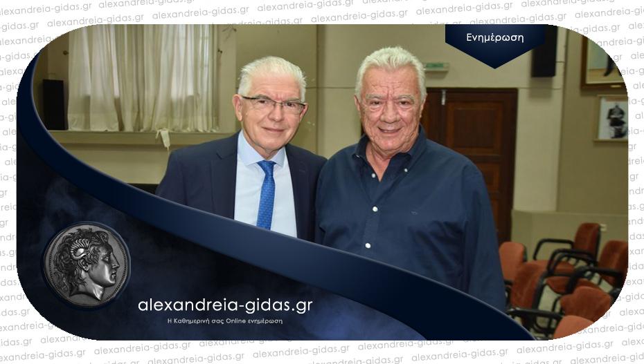 Με πρωτοβουλία Γκυρίνη η επίσκεψη του προέδρου του ΕΛΓΑ στη Μελίκη