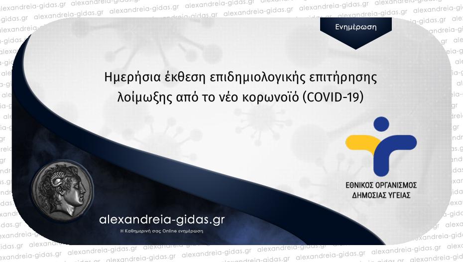 26 νέα κρούσματα κορονοϊού ανακοίνωσε στην Ημαθία σήμερα Κυριακή ο ΕΟΔΥ