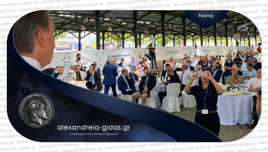 Λιβανός στο 2ο Συνέδριο της ΔΟΒ: «Επενδύουμε στα ποιοτικά χαρακτηριστικά του ελληνικού βαμβακιού»