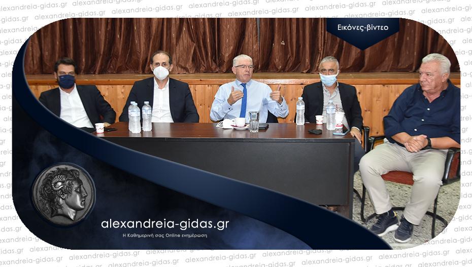 Αποκλειστικό: Στη Μελίκη βρέθηκε ο πρόεδρος του ΕΛΓΑ Ανδρέας Λυκουρέντζος
