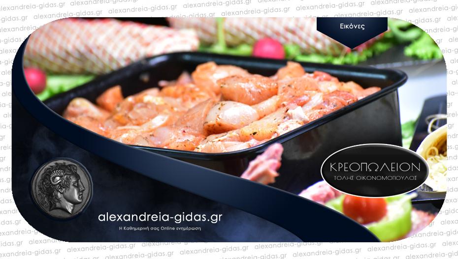 Γεμάτες οι βιτρίνες του κρεοπωλείου «ΤΟΛΗΣ» και αυτό το Σάββατο με φρέσκα Ελληνικά κρέατα!