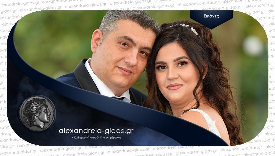 Ο όμορφος γάμος του Ευάγγελου και της Κυριακής στην Αλεξάνδρεια – να ζήσετε!