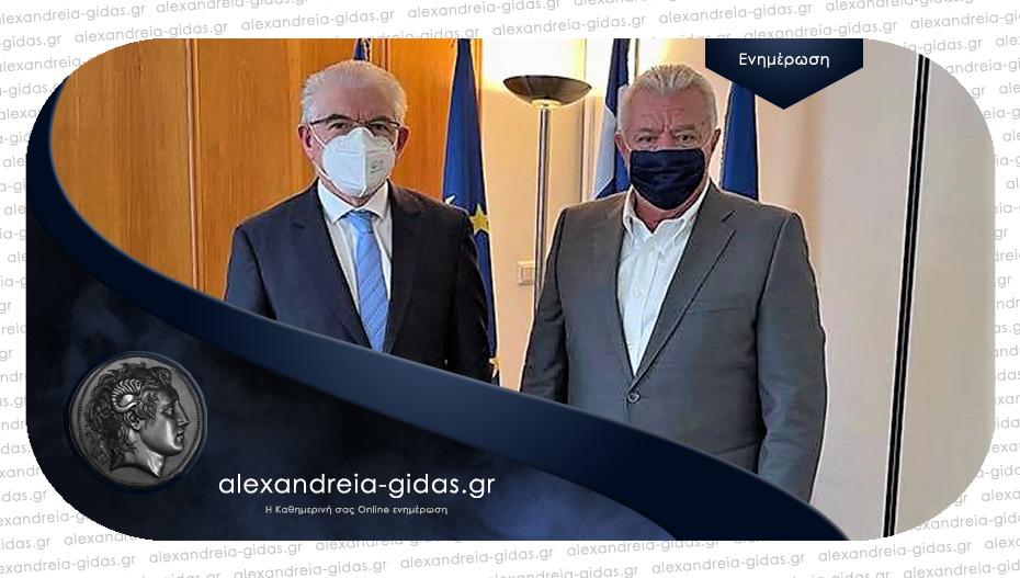 Στην Αθήνα ο δήμαρχος – συναντήθηκε με τον πρόεδρο του ΕΛΓΑ για τις ζημιές από τις βροχοπτώσεις