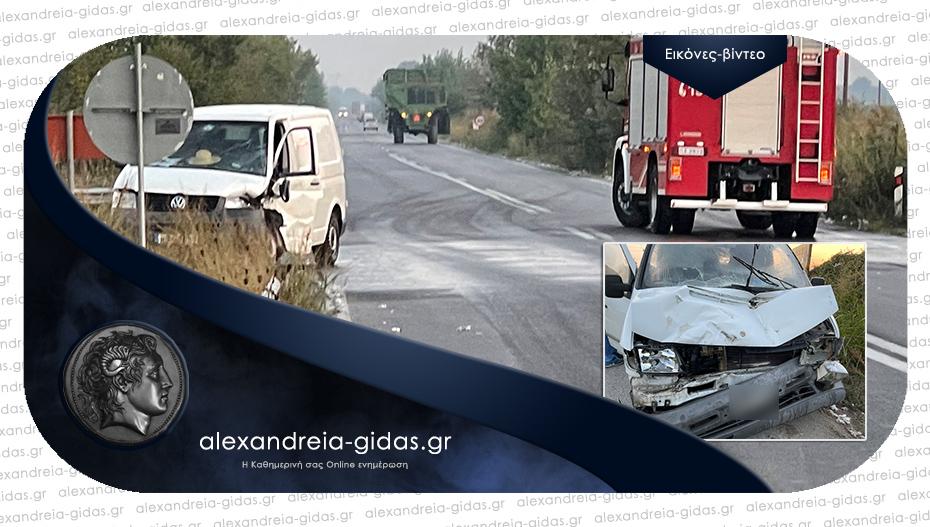 Τροχαίο ατύχημα το πρωί στην Κυψέλη: Συγκρούστηκαν τρακτέρ και δύο κλούβες